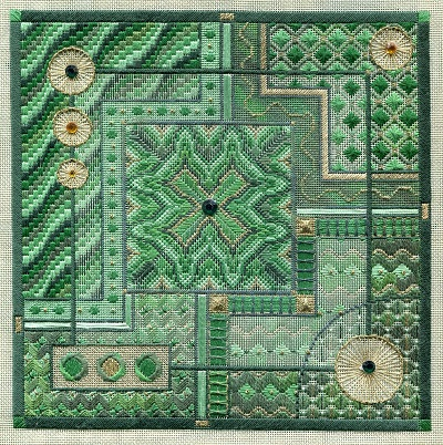 Malachite Maze by Laura J.Perin Designs