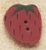 Debbie Mumm Buttons - 43177 - Medium Strawberry