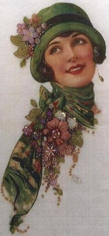 Molly silk panel