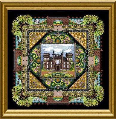 Castle Moyland by Chatelaine-DELICA beads pack