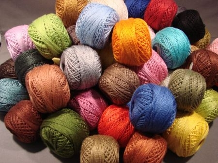 VALDANI COTTONS 3 PLY (great for punchneedle)