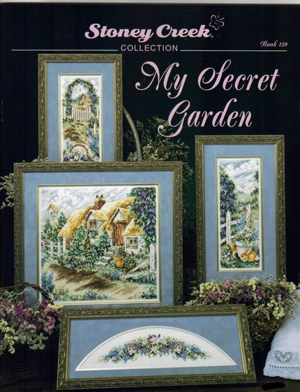 My secret Garden cross-stitch charts
