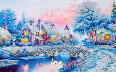 Winter Village by Diamond Dotz