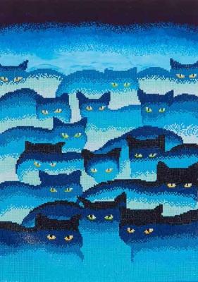 Smokey Mountain Cats by Diamond Dotz