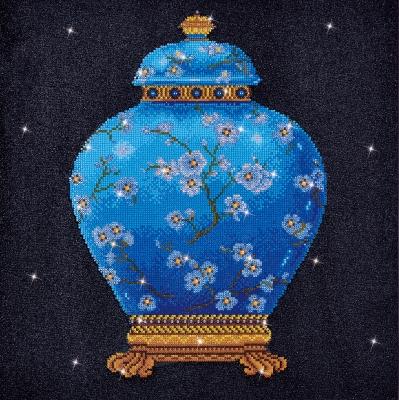 Blue Vase by Diamond Dotz