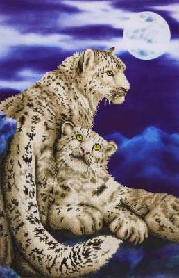 Snow leopard by Diamond Dotz