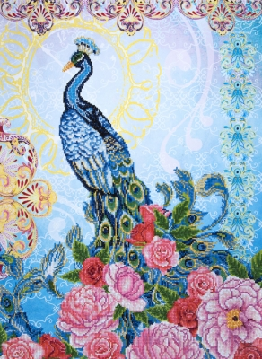 Exotic peacock by Diamond Dotz