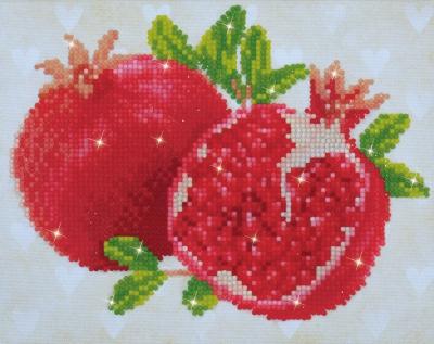 Good Fortune Pomegranates by Diamond Dotz