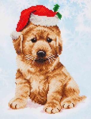 Christmas Lab by Diamond Dotz