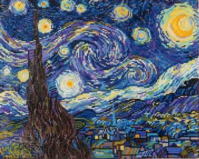 Starry Night - Van Gogh by Diamond Dotz