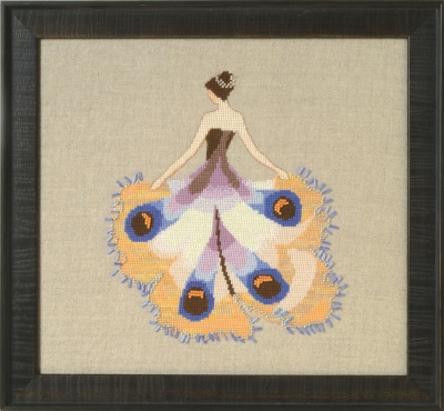 Miss Moth,NC258, Intriguing Insects by Nora Corbett Designs