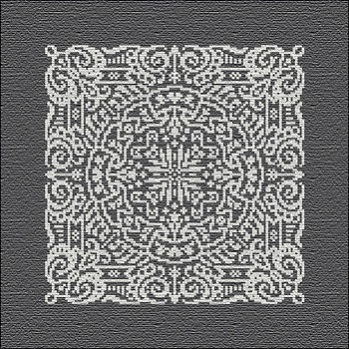 Chalkboard mandala by Ink Circles