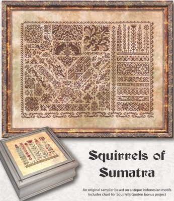 Squirrels of Sumatra (2 designs) by Ink Circles