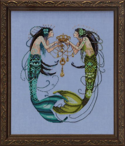 The Twin Mermaids,MD141,Mirabilia