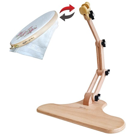 Nurge Adjustable Seated Embroidery Stand