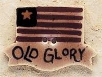 Debbie Mumm Buttons - 43158 - Old Glory