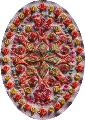 Ovals by Threedles Needleart Design