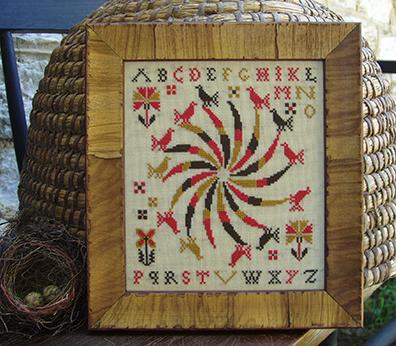 Pennsylvania Pinweel by Carriage House Samplings