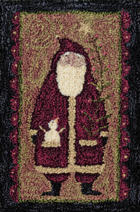 Teresa Kogut PN062 - Primitive Santa