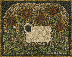 PN103 - Sunflower Sheep by Teresa Kogut