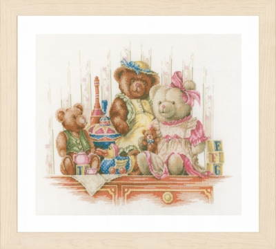 Bears and toys,PN168381,by Lanarte