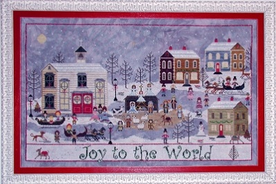 A Churchyard Christmas by Praiseworthy Stitches