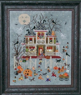Mummy's Moonlight Cafe by Praiseworthy Stitches