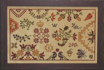 Praiseworthy Stitches Autumn Quaker
