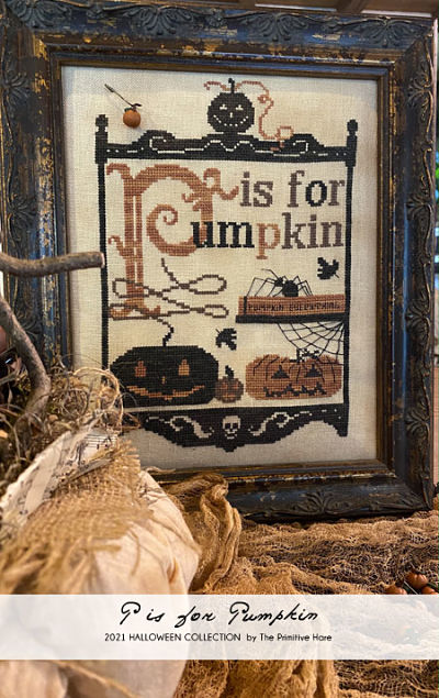 The Primitive Hare P is for Pumpkin