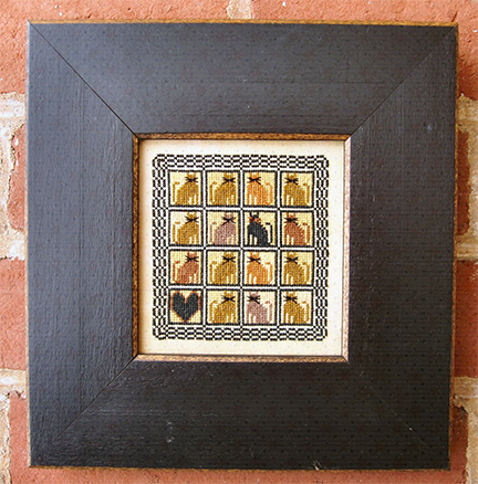 Carriage House Samplings Patchwork Cats
