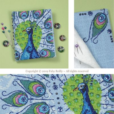 Faby Reilly Designs Peacock Needlebook