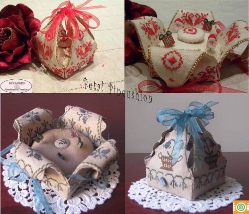 Petal Pincushion 2011 MDD-PP2011 by Mani di Donna
