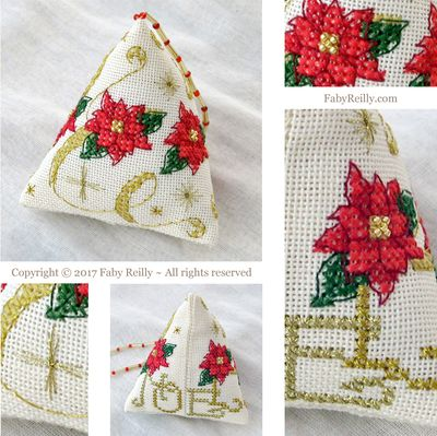Faby Reilly Designs Poinsettia Humbug