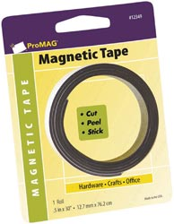 ProMag Adhesive Magnetic Tape Roll