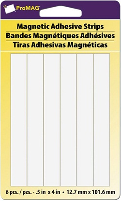 Adhes-A-Mag Adhesive Magnetic strips