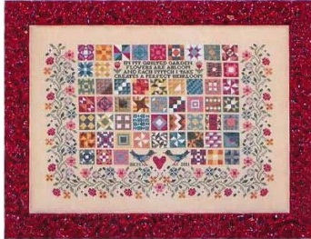 Blue Ribbon Designs Quilted garden