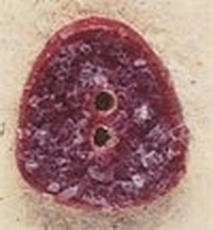 Debbie Mumm Buttons - 43175 - Red Gumdrop