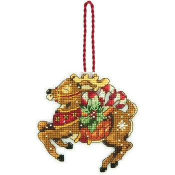 Reindeer ornament by Dimensions