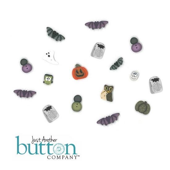 BUTTON PACK - SEEDY PUMPKIN COTTAGE - Praiseworthy Stitches