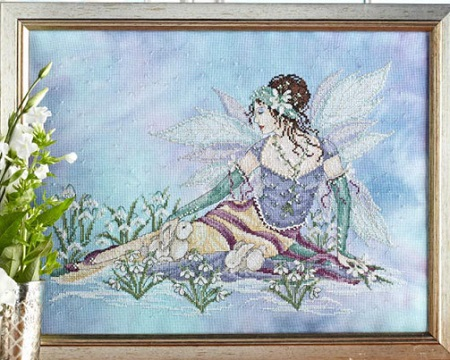 Snow Drop fairy by Joan Elliott