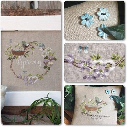 Spring Garland by Madame Chantilly