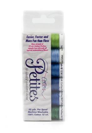 Sulky Sampler 12wt Cotton Petites 6/Pkg LEEDS SAMPLER