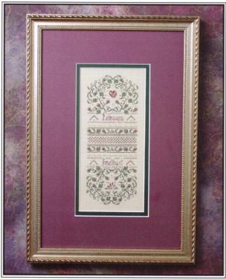 The Sweetheart Tree SV-T128 Birthstone Sampler Collection/February - Amethyst and Violet