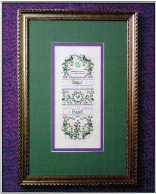 The Sweetheart Tree SV-T134 Birthstone Sampler Collection/August - Peridot & Gladiolus