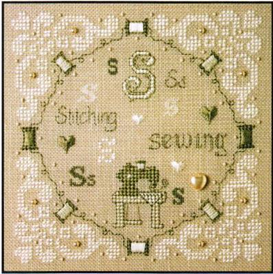 The Sweetheart Tree S Is For Stitching & Sewing