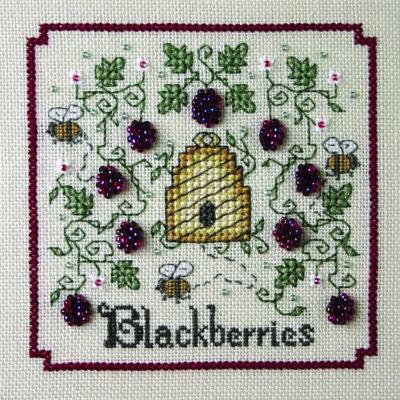 The Sweetheart Tree A-Buzz For Blackberries