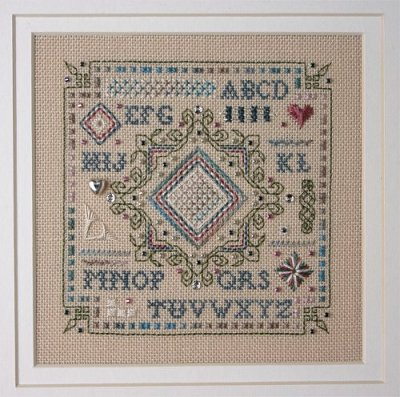 The Sweetheart Tree #SV-TK93 What A Stitch! Teenie Kit