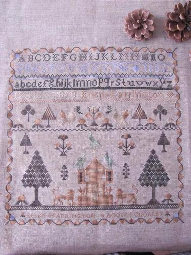 Sampler Ellen Ferrington MDD-SEF by Mani di Donna