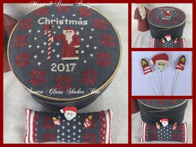 Mani di Donna Santa Claus Shaker Box  MDD-SCSB