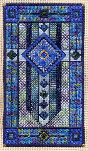 Sapphire star by Laura J.Perin Designs